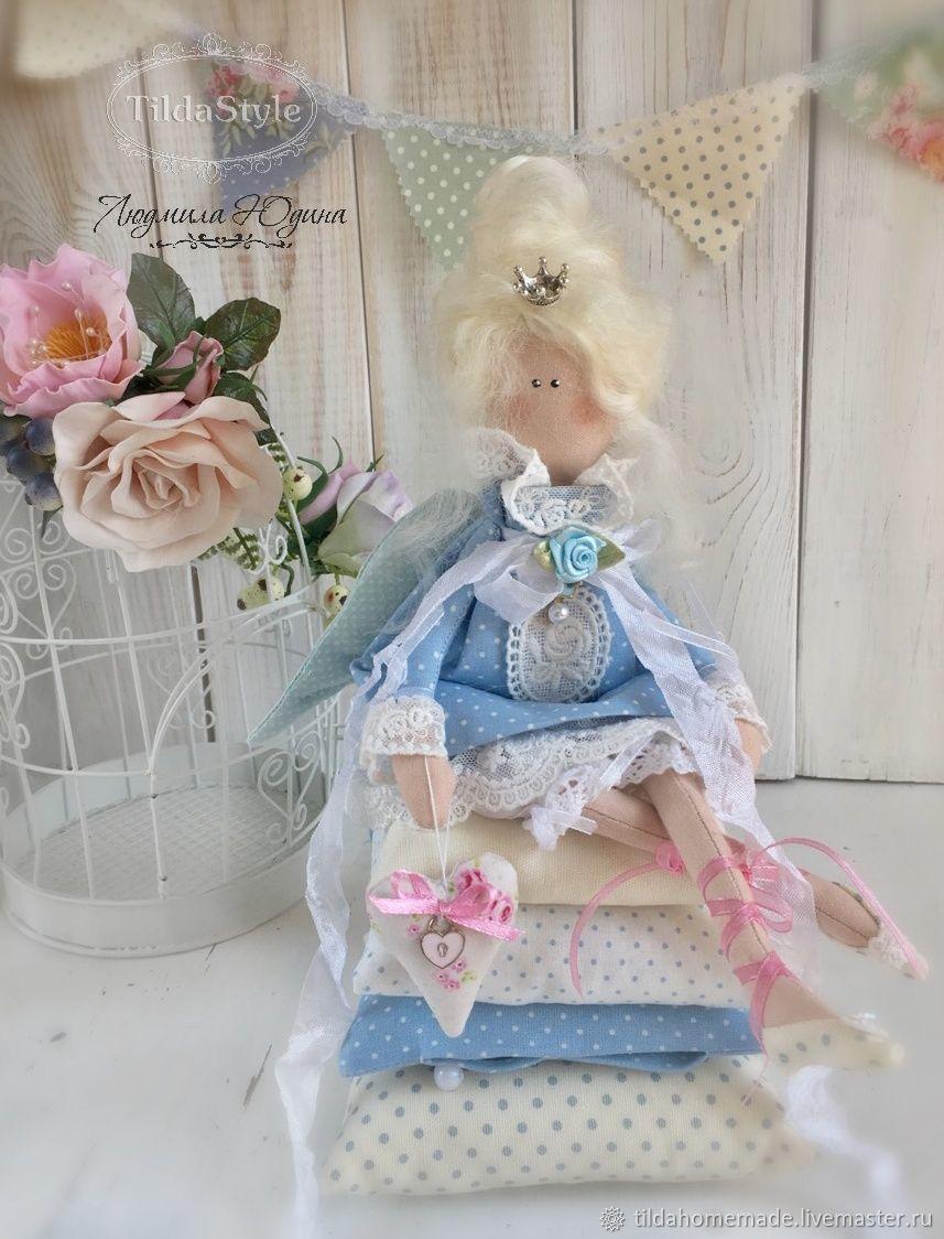Интерьерная кукла Принцесса на горошине, Тильда Зверята, Красноярск,  Фото №1