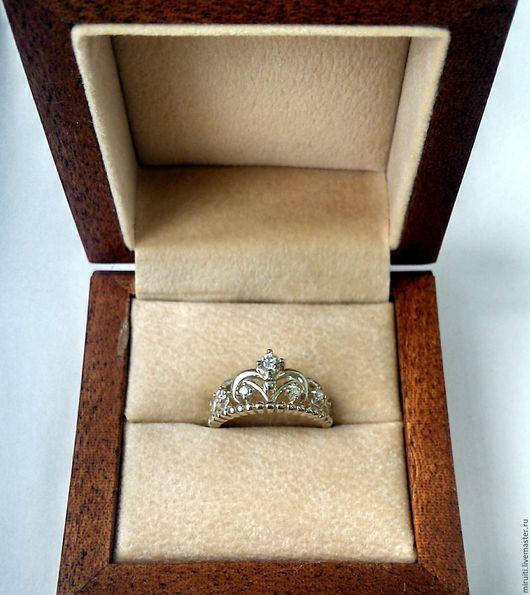 """Кольца ручной работы. Ярмарка Мастеров - ручная работа. Купить Кольцо """"Корона"""". Handmade. Серебряный, серебряная корона"""