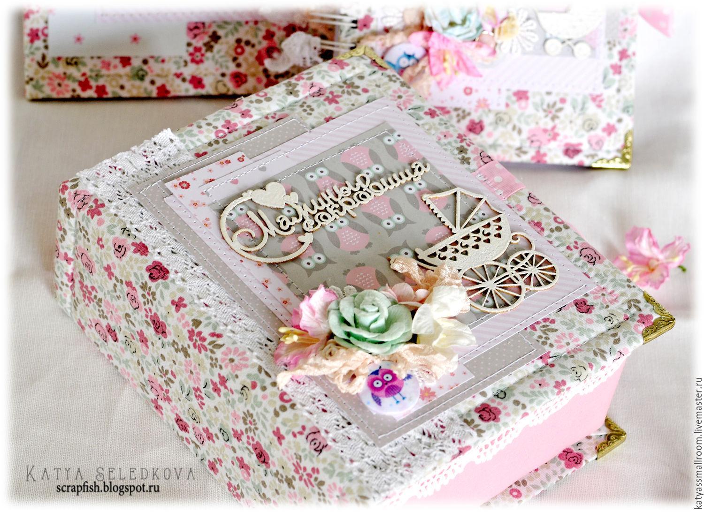 Подарки для новорождённых девочек