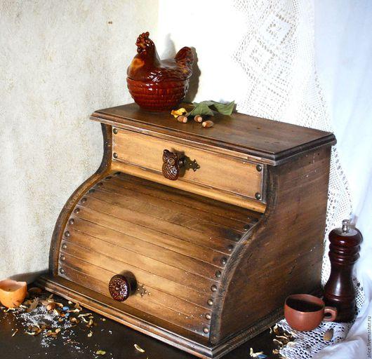 Кухня ручной работы. Ярмарка Мастеров - ручная работа. Купить FOREST хлебница. Handmade. Хлебница, рустик стиль, кухня кантри