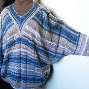 """Одежда ручной работы. Ярмарка Мастеров - ручная работа Пуловер """"Волна и песок"""". Handmade."""