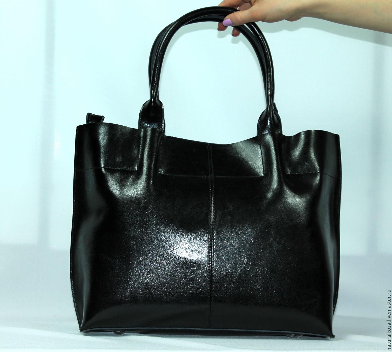 сумка женская чёрная фото