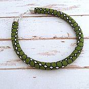 Украшения handmade. Livemaster - original item Harness from beads