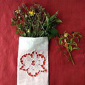 Для дома и интерьера handmade. Livemaster - original item Pouch for herbs ( Sasha). Handmade.
