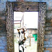 """Для дома и интерьера ручной работы. Ярмарка Мастеров - ручная работа Элегантно: Зеркало """"Эммет"""". Handmade."""