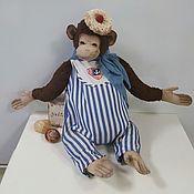 Куклы и игрушки ручной работы. Ярмарка Мастеров - ручная работа Обезьянчик. Handmade.