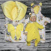 Конверты на выписку ручной работы. Ярмарка Мастеров - ручная работа Набор для выписки малыша. Handmade.