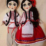 Народная кукла ручной работы. Ярмарка Мастеров - ручная работа Кукла в национальном стиле. Handmade.
