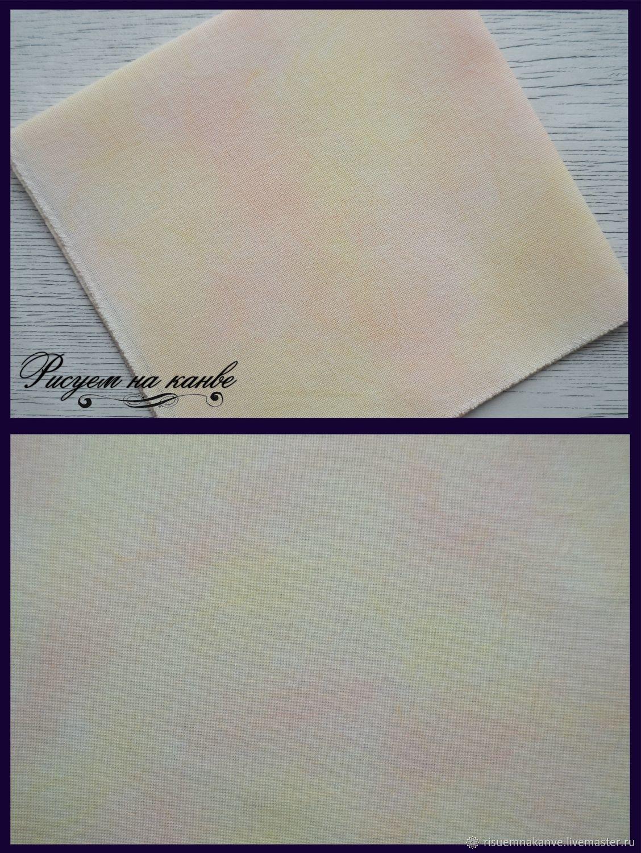 Окрашенная вручную равномерка для вышивки, Канва, Стерлитамак,  Фото №1