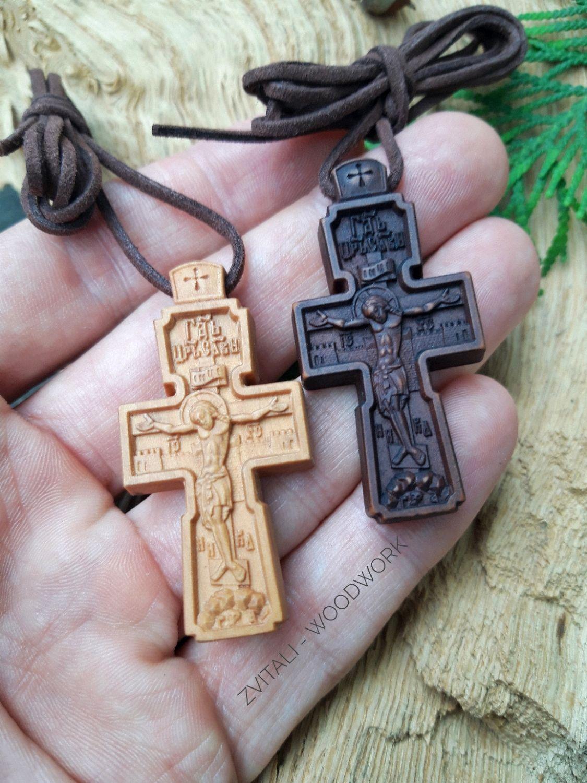 Как сделать деревянный крестик фото