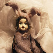 Куклы и игрушки ручной работы. Ярмарка Мастеров - ручная работа Тедди-долл. Заинька.. Handmade.