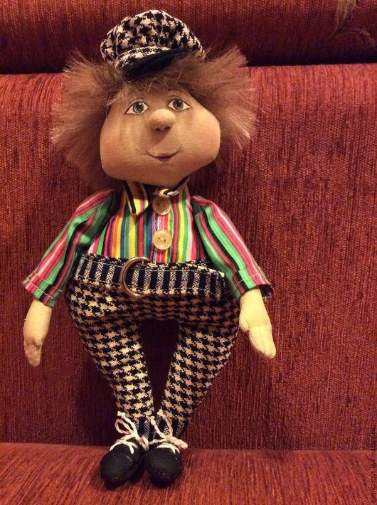 Коллекционные куклы ручной работы. Ярмарка Мастеров - ручная работа. Купить клоун. Handmade. Комбинированный, подарок, игрушка ручной работы
