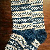 Работы для детей, handmade. Livemaster - original item Baby socks made of wool. Handmade.