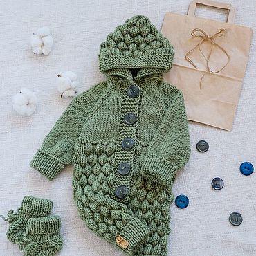 Одежда ручной работы. Ярмарка Мастеров - ручная работа Комбинезоны: детские комбинезоны. Handmade.