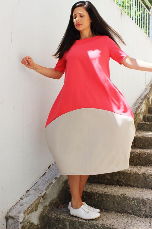 """Платья ручной работы. Ярмарка Мастеров - ручная работа. Купить Длинное Платье """"Two colors- one move"""" D0038. Handmade."""