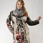 Одежда ручной работы. Ярмарка Мастеров - ручная работа Пальто большого размера Сударыня РЕЗЕРВ. Handmade.