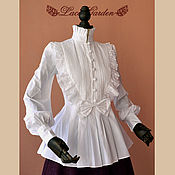 Одежда handmade. Livemaster - original item Victorian  Princess Blouse Shirt. Handmade.