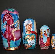 Русский стиль handmade. Livemaster - original item Matryoshka Petrov-Vodkin and Russian avant-garde. Handmade.