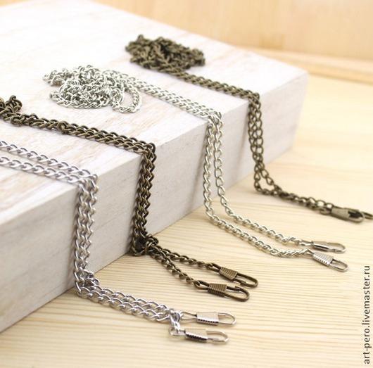 Другие виды рукоделия ручной работы. Ярмарка Мастеров - ручная работа. Купить Цепочки для сумок,  темный никель. Handmade.