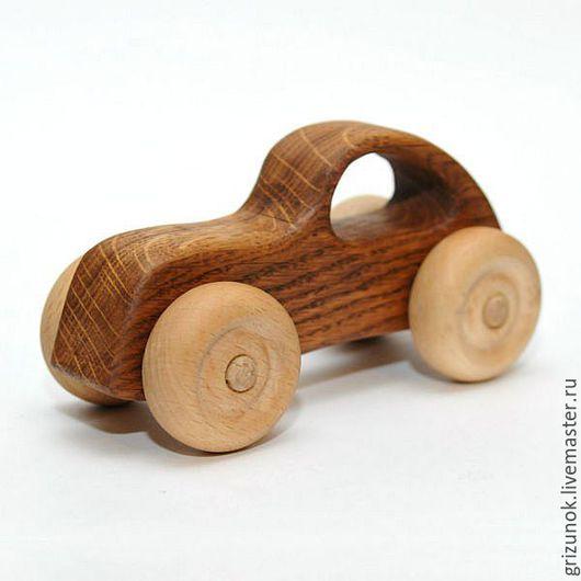 Техника ручной работы. Ярмарка Мастеров - ручная работа. Купить Деревянная игрушка машинка Ретро. Handmade. Деревянная игрушка