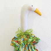 Куклы и игрушки ручной работы. Ярмарка Мастеров - ручная работа Гусь-мешок (пакетница) Лето. Handmade.