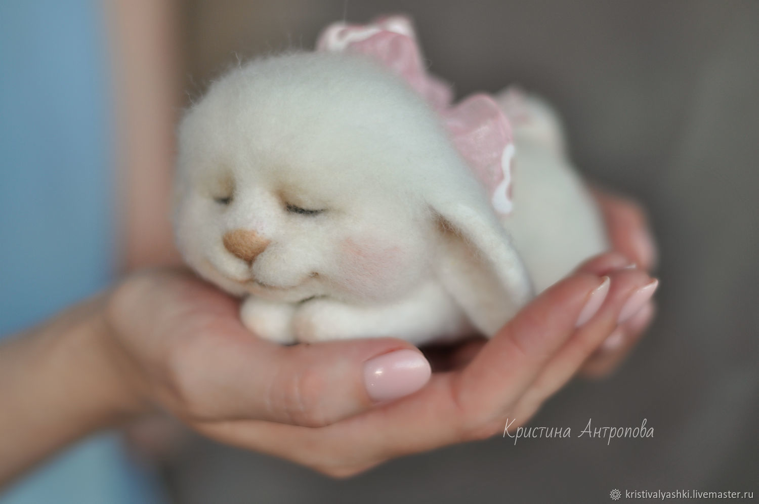 Felted toy Bunny Dormouse, Felted Toy, Arkhangelsk,  Фото №1
