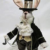 Куклы и игрушки handmade. Livemaster - original item The March hare from the fairy tale