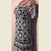Одежда handmade. Livemaster - original item Dress crochet. In explanation of Vanessa Montoro. Parisienne.. Handmade.