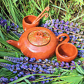 Сервизы ручной работы. Ярмарка Мастеров - ручная работа Сервиз Зеленый Чай. Handmade.