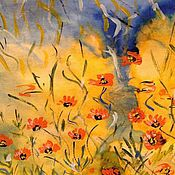 Картины и панно handmade. Livemaster - original item The flowers in the meadow.. Handmade.
