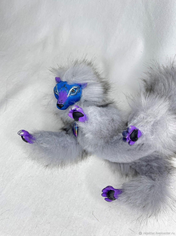 Подвижная мягкая игрушка - сказочный зверь, Мягкие игрушки, Истра,  Фото №1