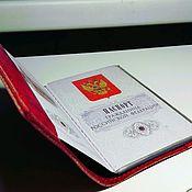 Обложки ручной работы. Ярмарка Мастеров - ручная работа Обложки на паспорт. Handmade.