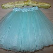 Одежда ручной работы. Ярмарка Мастеров - ручная работа юбка пачка еврофатин мятная. Handmade.