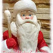 Дед Мороз из ваты №1(В ПРОДАЖЕ)