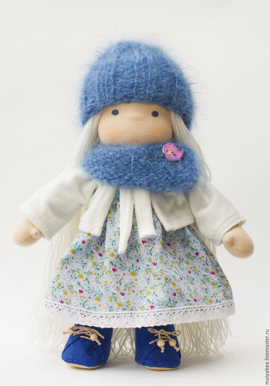 Waldorf doll of Sofia, 35 cm, Waldorf Dolls & Animals, Moscow,  Фото №1