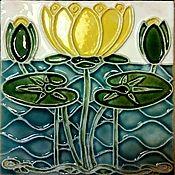handmade. Livemaster - original item Tiles Art Nouveau. Handmade.