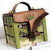 Для дома и интерьера ручной работы. Ярмарка Мастеров - ручная работа Бокс для маркеров Organic Art Product Box. Handmade.
