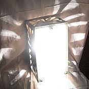 """Для дома и интерьера ручной работы. Ярмарка Мастеров - ручная работа Настенный светильник """"Конструкт"""". Handmade."""