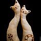 Ароматизированные куклы ручной работы. Ярмарка Мастеров - ручная работа. Купить Мартовские котики. Handmade. Бежевый, чердачная игрушка