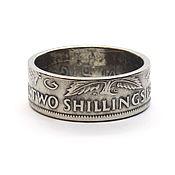Rings handmade. Livemaster - original item The ring of the coin 2 shillings (Florin), 1947, United Kingdom. Handmade.