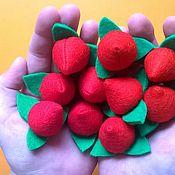 Куклы и игрушки ручной работы. Ярмарка Мастеров - ручная работа Ягодка-клубничка. Handmade.