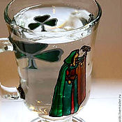 "Посуда handmade. Livemaster - original item ""Legend of the Wizards"". Medieval cups, stained glass. Handmade."