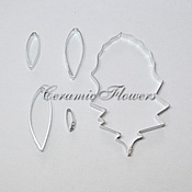 Материалы для творчества handmade. Livemaster - original item Cutter gerbera, petals and leaves, size L. Handmade.