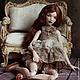 Коллекционные куклы ручной работы. Ярмарка Мастеров - ручная работа. Купить Tereza. Handmade. Коричневый, bjd
