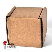Материалы для творчества ручной работы. Ярмарка Мастеров - ручная работа Коробка 9,1х9,1х10см. Handmade.