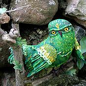 Куклы и игрушки ручной работы. Ярмарка Мастеров - ручная работа Вердепомовый птиц. Handmade.