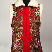 Одежда handmade. Livemaster - original item Vests with the addition of natural wool. Handmade.