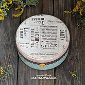 """Для дома и интерьера ручной работы. Ярмарка Мастеров - ручная работа Коробок """"Ваниль"""". Handmade."""