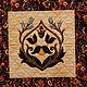 Текстиль, ковры ручной работы. Квилт N1. Анна Климова. Интернет-магазин Ярмарка Мастеров. Квилтинг и пэчворк, разноцветный