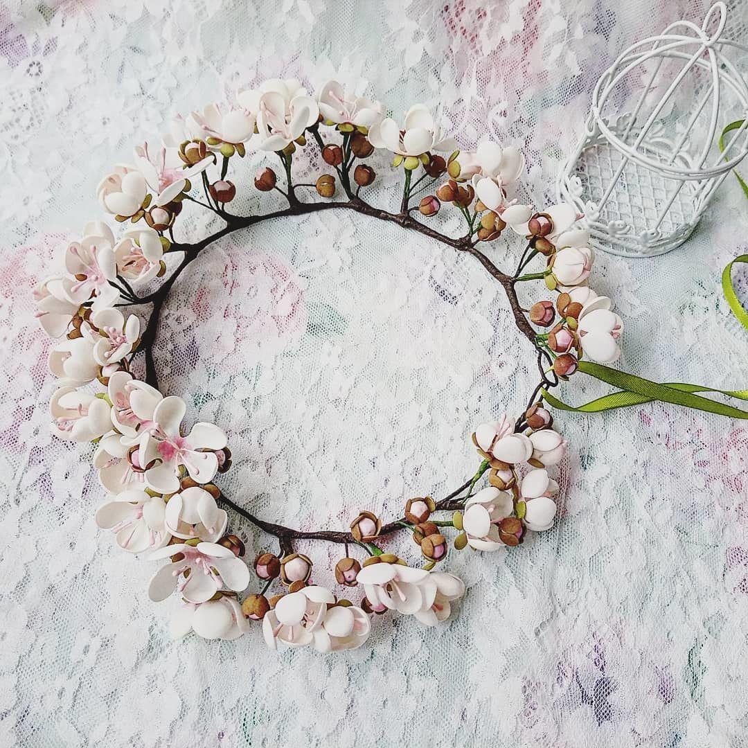 Венок для невесты. Вальс цветов, Свадебные аксессуары, Псков,  Фото №1